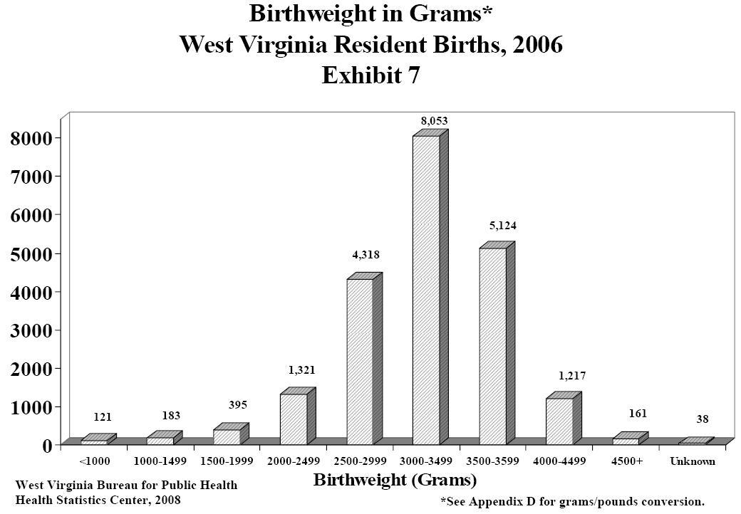 West Virginia 2006 Vital Statistics